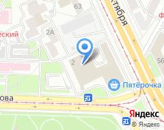 Компания Офисный центр Чкалова 2 на карте города