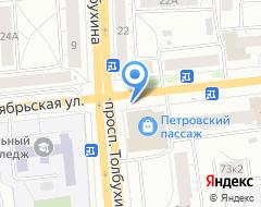 Компания ИСКонсалтинг на карте города