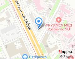Компания Парус на карте города