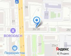 Компания Нотариусы Гузенко Е.Ю. и Бугрова Н.Б на карте города