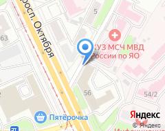 Компания Газпроект на карте города