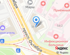 Компания Аркадия строй на карте города