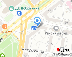 Компания Рост банк на карте города