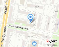 Компания Бикор на карте города