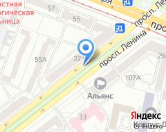 Компания Юридическая компания *динар* на карте города