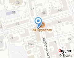 Компания РусьСтройТехникс на карте города