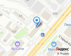 Компания ВОТ на карте города