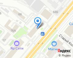 Компания Заказ-инвест на карте города