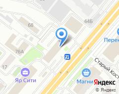 Компания УниверсалСтрой на карте города