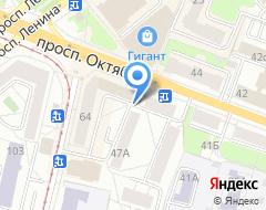 Компания Да на карте города