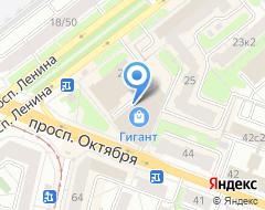 Компания Фора на карте города