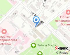 Компания Евразийская консультационно-юридическая группа на карте города
