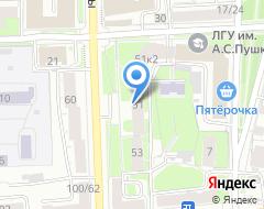 Компания Торгово-промышленная палата Ярославской области на карте города