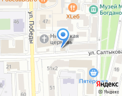 Компания Аддикцио на карте города