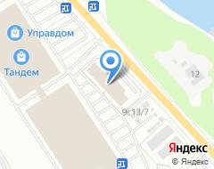 Компания АНстрой на карте города