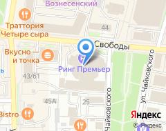 Компания Best центр развития бизнеса на карте города