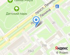 Компания Экомедика на карте города