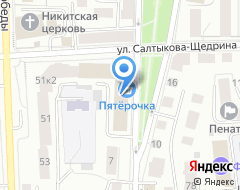Компания Гипроприбор на карте города