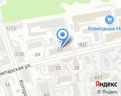 Компания Сваинова на карте города