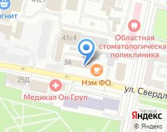 Компания КБ ВРБ на карте города