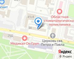 Компания ИНВЕСТБУРГ на карте города