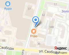 Компания Яргазпроект на карте города
