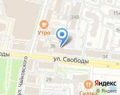Компания Ярославия на карте города