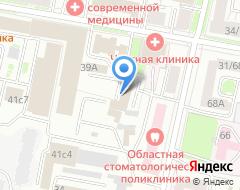 Компания Синапс на карте города