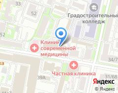 Компания Олимп на карте города