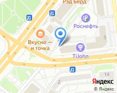 Компания Спутник на карте города
