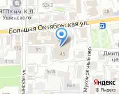 Компания Четвертак на карте города