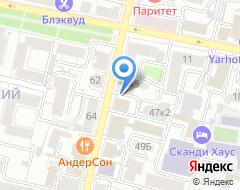 Компания НИКА на карте города