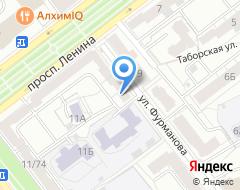 Компания ЮрФин на карте города