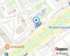 Компания Арт-проект на карте города