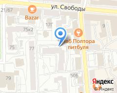 Компания КФК №1 на карте города