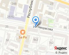 Компания Паллада на карте города