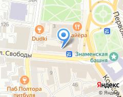 Компания Гео-Яр на карте города
