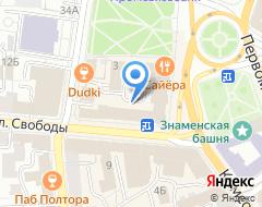 Компания Магазин финансовых услуг на карте города