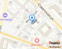 Компания Ярославская региональная антипиратская организация, НП на карте города