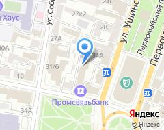 Компания Промсвязьбанк на карте города