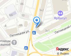 Компания Банк НФК на карте города