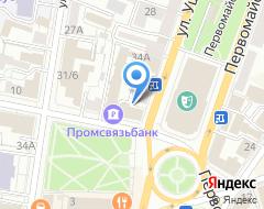 Компания Банк Енисей на карте города