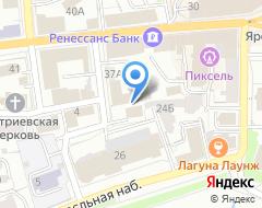 Компания РосИнвестСтрой на карте города