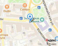Компания ИНСТРОЙПРОЕКТ на карте города