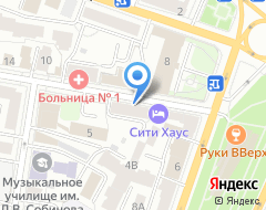 Компания Геолог на карте города