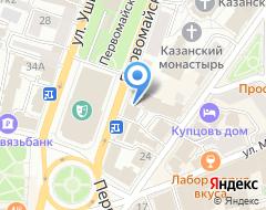 Компания АС-Прогресс на карте города