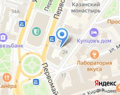 Компания Кадастаровая компания на карте города