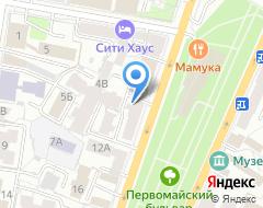 Компания Адвокатская контора Чернова А.В. на карте города