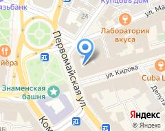 Компания Первобанк на карте города