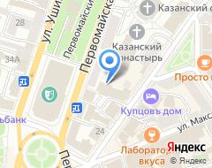 Компания Профинвест на карте города